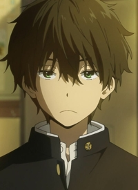 Houtarou OREKI is a character of anime »Hyouka« and of manga »Hyouka«.