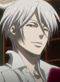 Shougo MAKISHIMA is a character of anime »Psycho-Pass« and of manga »Kanshikan Tsunemori Akane«.