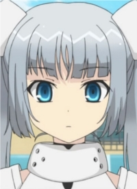 Miss Monochrome is a character of anime »Miss Monochrome The Animation« and of manga »Girlfriend (Kari): Chloe Lemaire-hen - Chloe to Nihon to Mirai no Tobira«.
