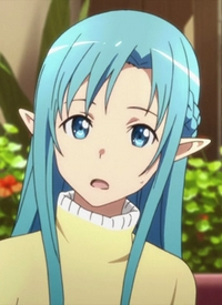 Asuna  [ALfheim Online Avatar] is a character of anime »Sword Art Online« and of manga »Sword Art Online«.