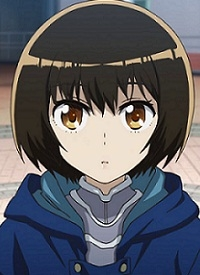 """Ryouko SATOU"" is a character of anime ""Aura: Maryuuinkouga Saigo no Tatakai"" and of manga ""Aura: Maryuuin Kouga Saigo no Tatakai""."