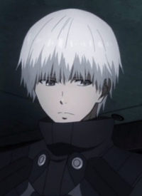 Ken KANEKI is a character of anime »Tokyo Ghoul √A« and of manga »Tokyo Ghoul«.