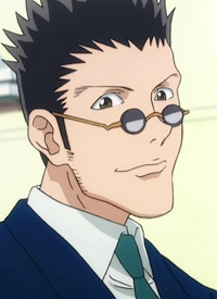 """Leorio PALADKNIGHT"" is a character of anime ""Hunter x Hunter (2011)"" and of manga ""Hunter X Hunter""."