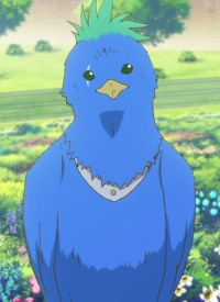 Popo is a character of anime »Akagami no Shirayuki-hime« and of manga »Akagami no Shirayukihime«.