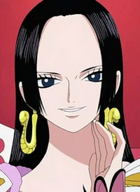 """""""Boa Hancock"""" is a character of anime """"One Piece"""" and of manga """"One Piece""""."""