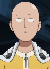 Saitama is a character of anime »One Punch Man« and of manga »One Punch-Man«.