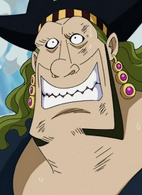 """A.O"" is a character of anime ""One Piece""."