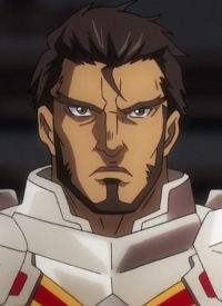 Gazef STRONOFF is a character of anime »Overlord III« and of manga »Overlord«.