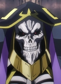 Momonga is a character of anime »Overlord« and of manga »Overlord«.
