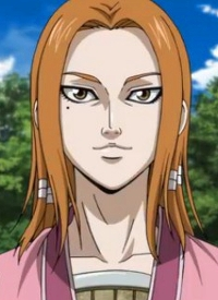 """""""Mou Ten"""" is a character of anime """"Kingdom (2013)""""."""