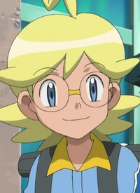 Citron is a character of anime »Pocket Monsters XY«.