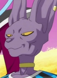 »Beerus« is a character of anime »Dragon Ball Super« and of manga »Dragon Ball Super«.