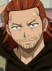 Gildarts CLIVE is a character of anime »Fairy Tail« and of manga »Fairy Tail«.