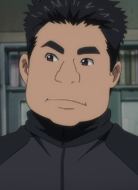 Takeshi NISHIGOORI is a character of anime »Yuri!!! on Ice«.