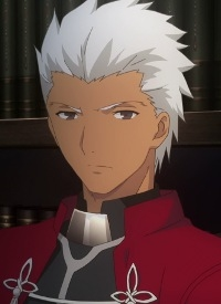 Archer is a character of anime »Fate/Stay Night: Unlimited Blade Works (2014)« and of manga »Fate/Stay Night«.