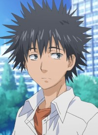 Touma KAMIJOU is a character of anime »Toaru Majutsu no Index« and of manga »Toaru Majutsu no Index«.