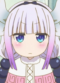 Kanna KAMUI is a character of anime »Kobayashi-san Chi no Maid Dragon« and of manga »Kobayashi-san Chi no Maid Dragon«.