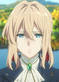 Violet EVERGARDEN is a character of anime »Violet Evergarden« and of manga »Violet Evergarden«.