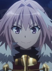 Astolfo is a character of anime »Fate/Apocrypha« and of manga »Fate/Apocrypha«.