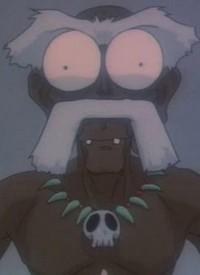 Aham is a character of anime »Jungle de Ikou!«.