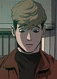 Sangwoo OH is a character of manga »Killing Stalking«.