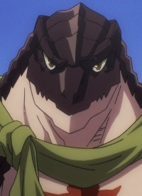 Zaryuusu SHASHA is a character of anime »Overlord II«.