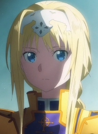 Alice SYNTHESIS THIRTY is a character of anime »Sword Art Online: Alicization«.
