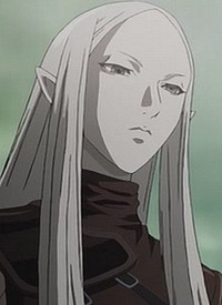 Irene is a character of anime »Claymore« and of manga »Claymore«.