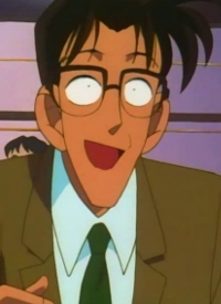 """Takashi ICHIEDA"" is a character of anime ""Meitantei Conan""."