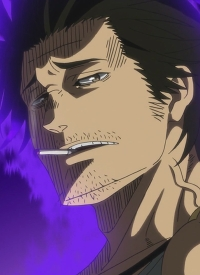 Yami SUKEHIRO is a character of anime »Black Clover (2017)« and of manga »Black Clover«.