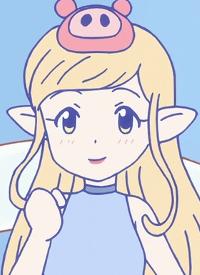 Ayu is a character of anime »Hakata Mentai! Pirikarako-chan«.