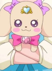 Latte is a character of anime »Healin' Good Precure«.