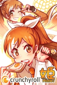 Manga: The Daily Life of Crunchyroll-Hime