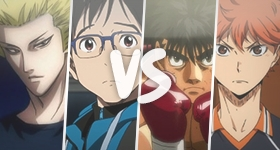 Newest poll: Which Protagonist from Our Top 10 Sports Anime Do You Like the Most?